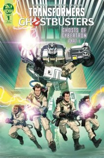 TRANSFORMERS GHOSTBUSTERS #1 INCV MILNE【遅延入荷】