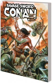 SAVAGE SWORD OF CONAN TP VOL 01 CULT OF KOGA THUN