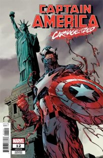 CAPTAIN AMERICA #12 GUICE CARNAGE-IZED VAR