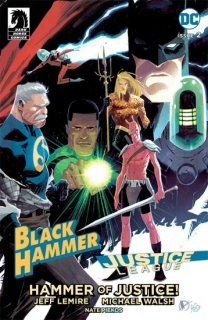 BLACK HAMMER JUSTICE LEAGUE #2 (OF 5) CVR D TEDESCO