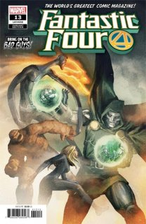 FANTASTIC FOUR #13 PAREL BOBG VAR