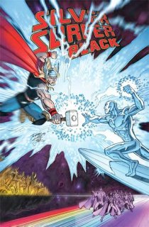 SILVER SURFER BLACK #3 (OF 5) LIM VAR