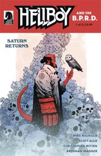 HELLBOY AND THE BPRD SATURN RETURNS #1 (OF 3)