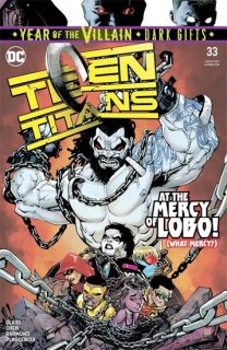 TEEN TITANS #33 YOTV DARK GIFTS