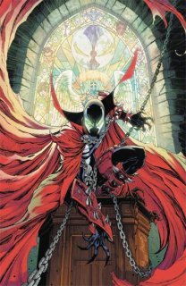 SPAWN #300 CVR M CAMPBELL VIRGIN