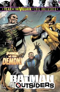BATMAN AND THE OUTSIDERS #5 YOTV