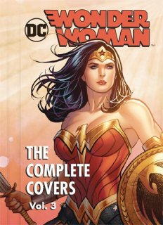 DC COMICS WONDER WOMAN COMP COVERS MINI HC VOL 03