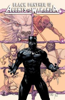 BLACK PANTHER AND AGENTS OF WAKANDA #1 YU VAR