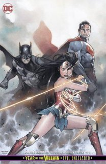 JUSTICE LEAGUE #32 CARD STOCK VAR ED