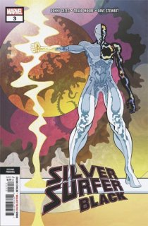 SILVER SURFER BLACK #3 (OF 5) 2ND PTG MOORE VAR