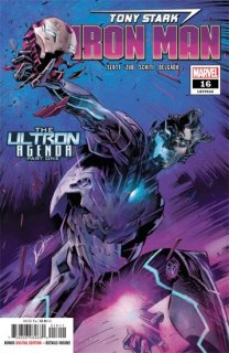TONY STARK IRON MAN #16