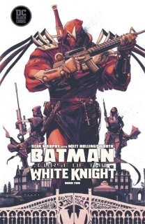 BATMAN CURSE OF THE WHITE KNIGHT #2 (OF 8)【再入荷】