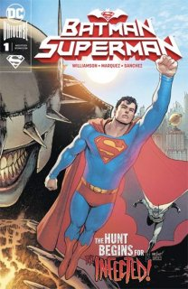 BATMAN SUPERMAN #1 SUPERMAN COVER【再入荷】