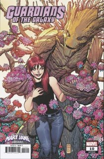GUARDIANS OF THE GALAXY #10 ADAMS MARY JANE VAR