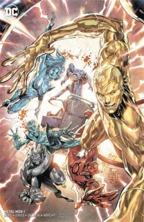 METAL MEN #1 (OF 12) VAR ED