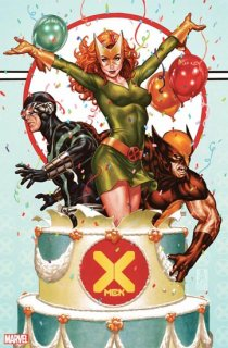 X-MEN #1 BROOKS PARTY VAR DX