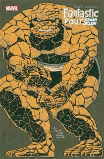 FANTASTIC FOUR GRAND DESIGN #1 (OF 2) PISKOR VAR