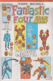 FANTASTIC FOUR GRAND DESIGN #1 (OF 2) SCIOLI VAR