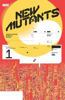 NEW MUTANTS #1 MULLER DESIGN VAR DX