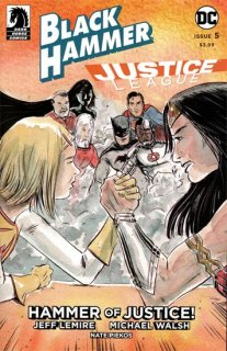 BLACK HAMMER JUSTICE LEAGUE #5 (OF 5) CVR B KINDT