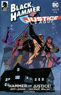 BLACK HAMMER JUSTICE LEAGUE #5 (OF 5) CVR C CRYSTAL