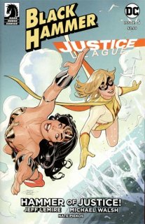BLACK HAMMER JUSTICE LEAGUE #5 (OF 5) CVR E DODSON