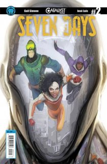 CATALYST PRIME SEVEN DAYS #2 (OF 7) MAIN CVR