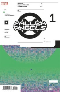 FALLEN ANGELS #1 MULLER DESIGN VAR DX