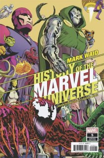 HISTORY OF MARVEL UNIVERSE #5 (OF 6) RODRIGUEZ VAR