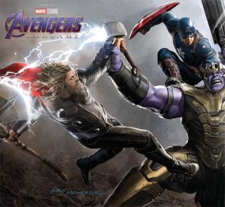 AVENGERS ENDGAME ART OF MOVIE HC SLIPCASE (店頭取り置きのみご対応)