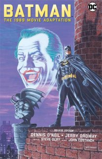 BATMAN THE 1989 MOVIE ADAPTATION HC DLX ED