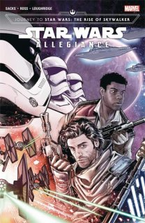 JOURNEY STAR WARS RISE SKYWALKER ALLEGIANCE TP VOL 01 DM C V