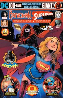 BATWOMAN SUPERGIRL WORLDS FINEST GIANT #1