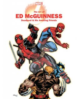 MARVEL MONOGRAPH TP ART OF ED MCGUINNESS
