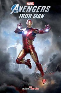 MARVELS AVENGERS IRON MAN #1 GAME VAR
