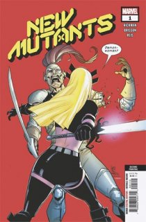 NEW MUTANTS #1 2ND PTG CAMUNCOLI VAR DX