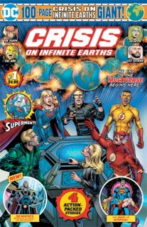 CRISIS ON INFINITE EARTHS GIANT #1