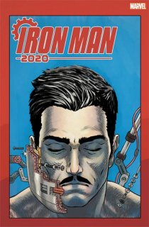 IRON MAN 2020 #1 (OF 6) SUPERLOG HEADS VAR