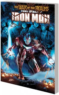 TONY STARK IRON MAN TP VOL 03 WAR OF REALMS【再入荷】