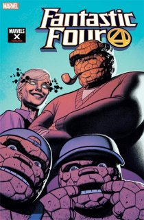 FANTASTIC FOUR #18 SMALLWOOD MARVELS X VAR