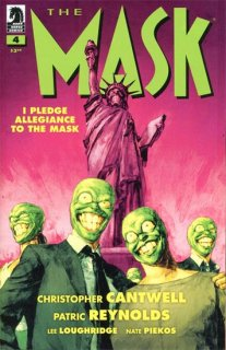 MASK I PLEDGE ALLEGIANCE TO THE MASK #4 (OF 4) CVR A REYNOLD