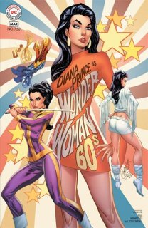 WONDER WOMAN #750 1960S VAR ED
