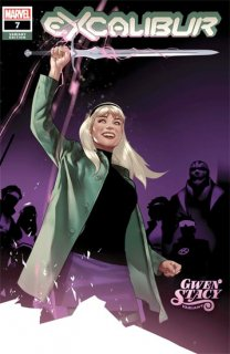 EXCALIBUR #7 OLIVER GWEN STACY VAR DX