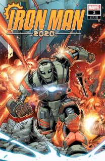 IRON MAN 2020 #2 (OF 6) RON LIM VAR