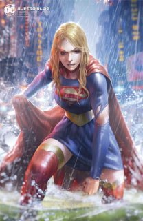 SUPERGIRL #39 CARD STOCK DERRICK CHEW VAR ED