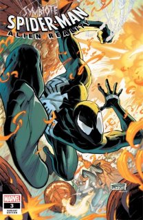 SYMBIOTE SPIDER-MAN ALIEN REALITY #3 (OF 5) SANDOVAL VAR