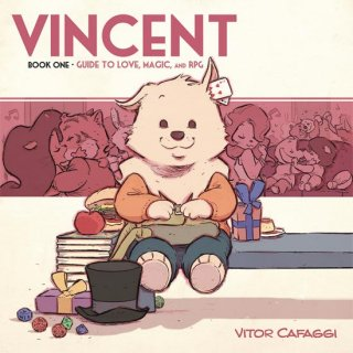 VINCENT GN BOOK 01 GUIDE TO LOVE MAGIC & RPG【再入荷】