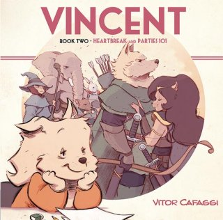 VINCENT GN BOOK 02 HEARTBREAK & PARTIES 101【再入荷】