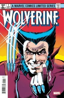 WOLVERINE BY CLAREMONT & MILLER #1 FACSIMILE EDITION