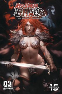RED SONJA AGE OF CHAOS #2 CVR C CHEW